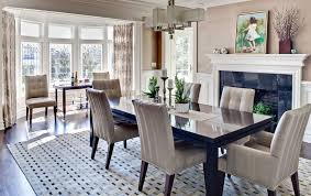 Dining Room Curtains How To Solve The Curtain Problem When You Have Bay Windows