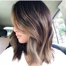partial hi light dark short hair 40 partial balayage looks herinterest com