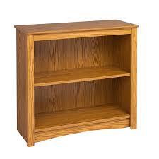 Sauder Oak Bookcase by Amazon Com Oak 2 Shelf Bookcase Kitchen U0026 Dining