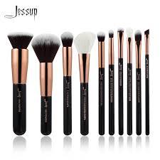 professional makeup tools jessup brand black gold professional makeup brushes set make