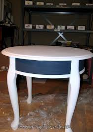 hand painted compass rose tables annie sloan chalk paint