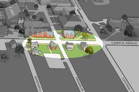 Bates College Map Campus Construction Update March 27 2014 News Bates College