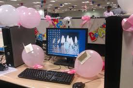 decorating coworkers desk for birthday birthday decoration desk at work unusual srilaktv com
