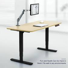 Jesper Sit Stand Desk by Office Office Desk Height Co Z Electric Height Adjustable