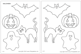 coloring lovely halloween templates coloring halloween