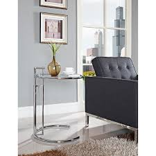 Contemporary Accent Table Amazon Com Modway Eileen Gray Side Table Kitchen U0026 Dining
