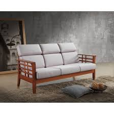 beige high back sofa wayfair baxton studio armanno 3 seater living