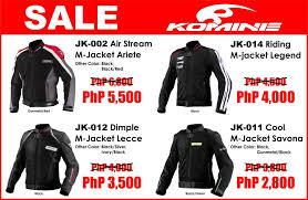 riding jacket price komine pre holidays jacket sale