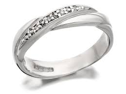 Wedding Rings White Gold by Chic Collections Of White Gold Wedding Rings Wedwebtalks