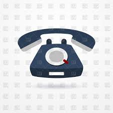 phone icon old blue phone icon free vector clip art image 72111 u2013 rfclipart