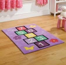 Childrens Play Rug Hopscotch Kids Childrens Play Rug 110x160cm Ebay