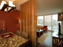 Fall Color Curtains Fall Color Trends Small Spaces Sheer Curtains And Divider
