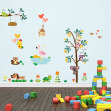 Farm Animal Wall Stickers Online Get Cheap Butterfly Trees Aliexpress Com Alibaba Group