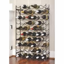latitude run gresham 60 bottle floor wine rack u0026 reviews wayfair