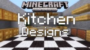 Kitchen Design Video by Minecraft Xbox 360 Simple Kitchen Designs Youtube