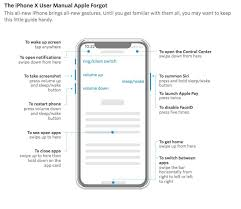 the iphone x manual that apple forgot to create the mac observer