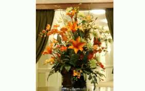 Silk Floral Arrangements Large Artificial Flower Arrangements Youtube