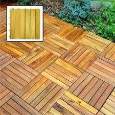 Teak Floor Tiles Outdoors outdoor wood floor panels parquet tiles patio coveringoutdoor