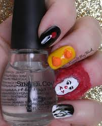 halloween nail art challenge halloween themed tv or movie
