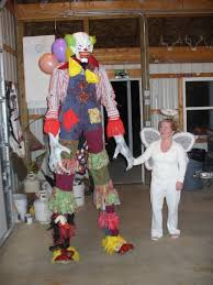 clown stilts for sale costumes haunt of the falls