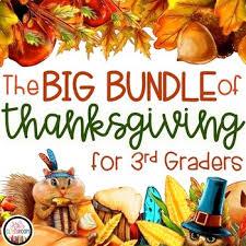 thanksgiving math thanksgiving 3rd grade thanksgiving activities