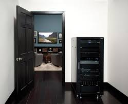 Small Component Cabinet Home Theater Receiver Placement Tips