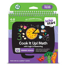Leapfrog Interactive United States Map by Leapfrog Leapstart Level 3 Cook It Up Maths Activity Book 10 00