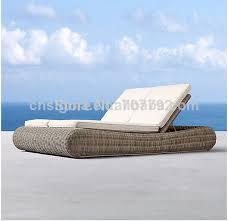 chaise longue ext rieur 2014 vente chaude luxe conçu extérieur jardin en rotin chaise