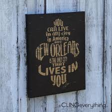 New Orleans Wall Decor New Orleans Decor Cling Creative Living