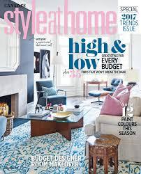 28 home decor magazine canada falls design design crush home decor magazine canada magazine style at home january 2017 canada read online