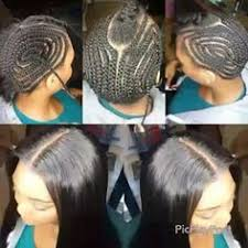 how to braid hair with middle part braid pattern for crochet braids with leave out middle part