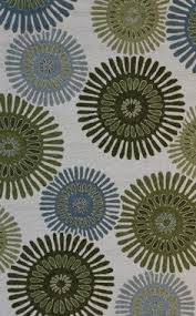 Floral Outdoor Rug Blue And Sage Floral Indoor Outdoor Rug American Home