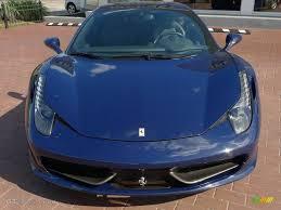 Ferrari 458 Blue - blue scozia dark blue 2010 ferrari 458 italia exterior photo
