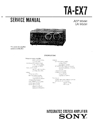 sony str de435 str de535 str se491 str v424 str v525 sm service