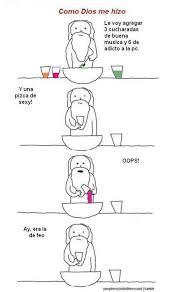 When God Made Me Meme - cuando dios me creo jajaja funny stuff pinterest stuffing
