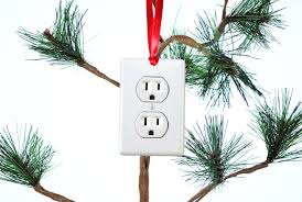 electrical outlet funny christmas tree ornament u2013 neurons not
