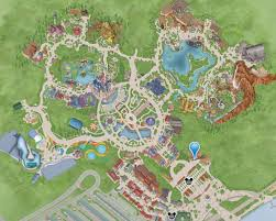 Map Of Shanghai Shanghai Disneyland Map Details Disney At Work