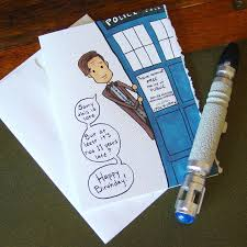 doctor who congratulations card doctor who belated birthday card eleventh doctor late birthday
