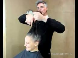 hair makeovers for women over 40 over 40 long gray hair makeup makeover the makeover guy youtube