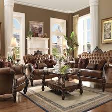 Victorian Leather Sofa Living Room Captivating Living Room Leather Furniture Ideas