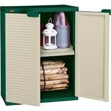 Compact Storage Cabinets Keter Garden Storage Cream Plastic Compact Storage Cupboard