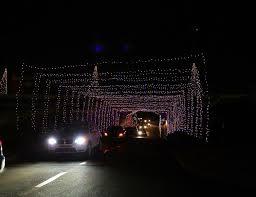 charlotte motor speedway christmas lights 2017 millions of lights thousands of visitors hundreds of displays