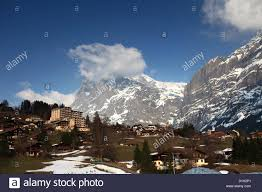 swiss chalet homes ski resort of grindelwald swiss alps