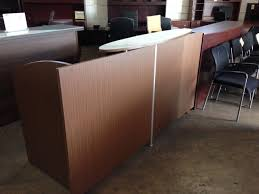 Reception Desk Price by Cherryman U0027s Verde Reception Desk 82