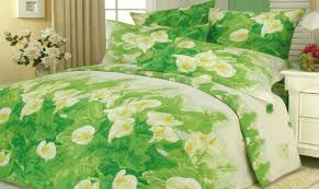Bright Green Comforter Bedding Color Symbolism