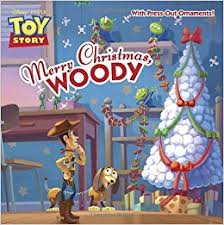 merry woody with ornament disney pixar story