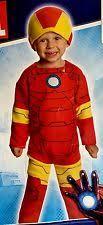 Iron Man Halloween Costume Toddler Toddler Iron Man Costume Ebay