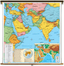 east political map middle east political map