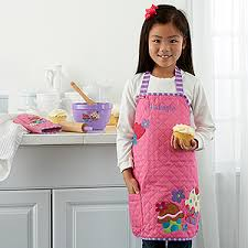 personalized aprons cupcake