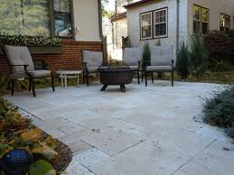 Travertine Patio Natural Stone Surfaces Minnesota Outdoor Solutions